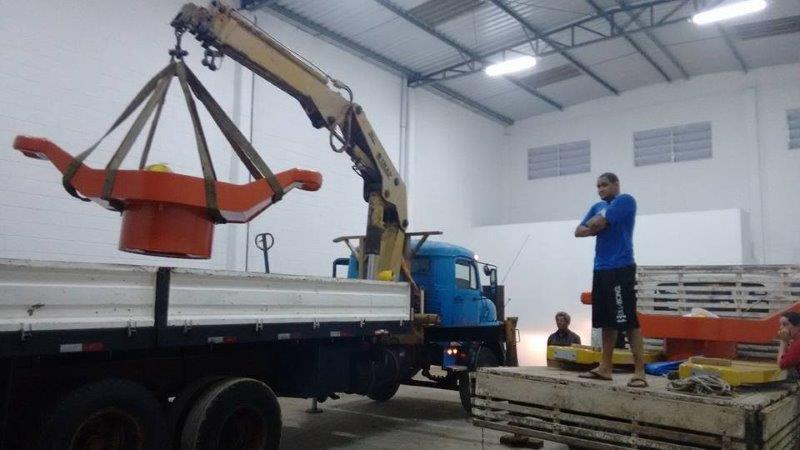 Içamento e remoção de máquinas