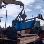 Desmontagem de maquinas industriais